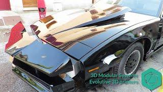 [EN] Knight rider replica K2000 car (customized with a 3D printer)