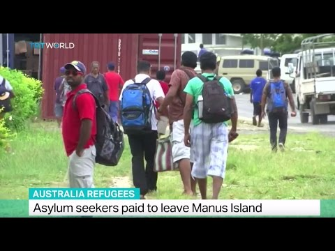 Australia Refugees: Asylum seekers paid to leave Manus island