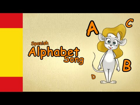 spanish alphabet song - how to learn spanish for beginners - speak spanish lesson 1