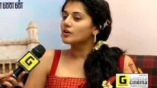 Taapsee Exclusive Interview-Deepavali Special Part 1