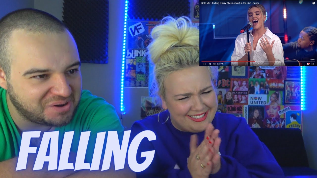Little Mix - Falling (Harry Styles cover) in the Live Lounge | COUPLE REACTION VIDEO