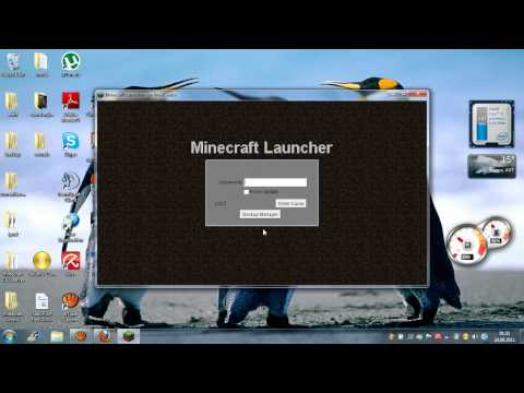 How to get Minecraft 1.8.1 for Free !! Auto updater