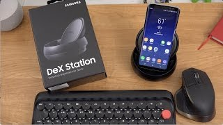 Samsung DeX Unboxing and Demo: Galaxy S8 Desktop Dock!