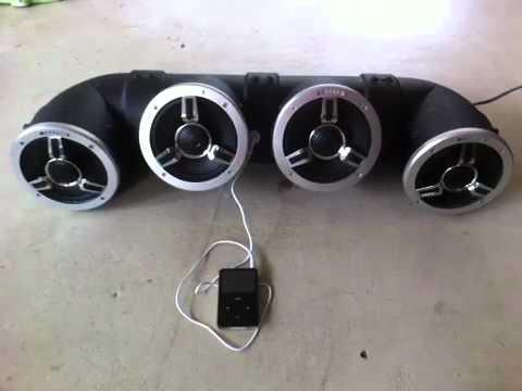 4 speaker Audiotube for Honda Rincon