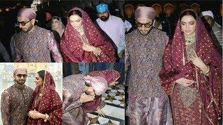 Deepika Padukone And Ranveer Singh Visit Golden Temple On First Wedding Anniversary 2019
