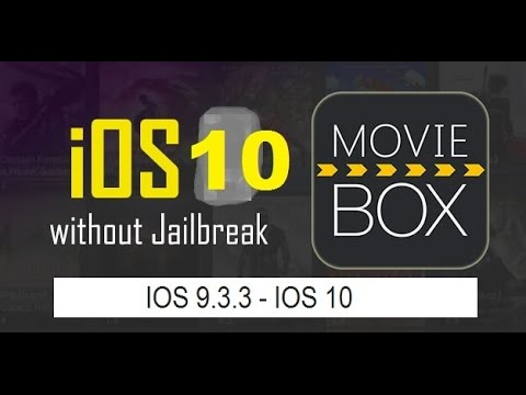 (PC) How to Get Moviebox On IOS 9.3.3 - IOS 10.2 (No Jailbreak)
