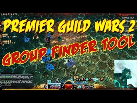 Premier Guild Wars 2 group finder tool and raid finder tool