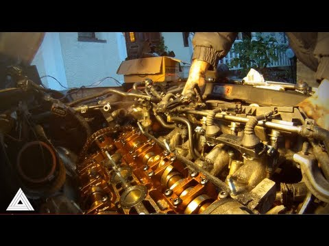 Audi TT Quattro Cylinder Head Removal after valve piston contact. Engine Rebuild Diary Part 2