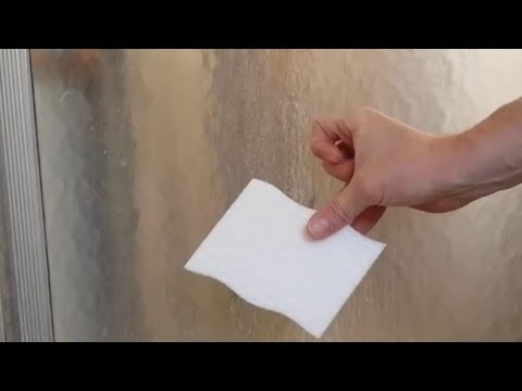 How To Clean A Glass Shower Door With Mr Clean Magic Eraser.