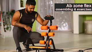 Ab Zone Flex Assembling | Best Ab Exercise Machine | Complete Home Workout | Zukazo
