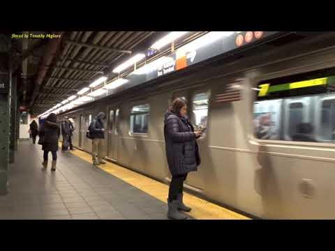 The New York City Subway at 42nd Street: 2018