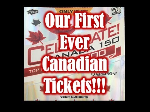 First Ever Canadian Tickets!!!!