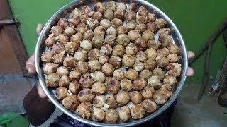 Cooking Healthy/Traditional SALANGAI PANIYARAM in My Village - Olden Tamilan Recipe