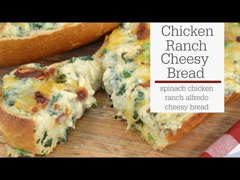 Chicken Alfredo Cheesy Bread | RadaCutlery.com