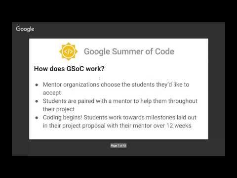 Google Summer of Code GSoC 2017 HeadStart QnA Session