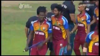 West Indies U19s victory in ICC CWC 2016