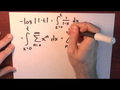 Can I integrate a power series? - Week 5 - Lecture 9 - Sequences and Series