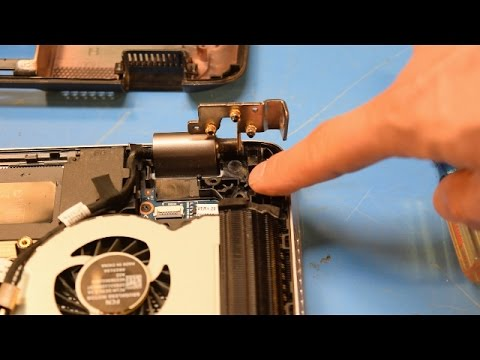 Laptop Hinge Repair  -  HP Envy