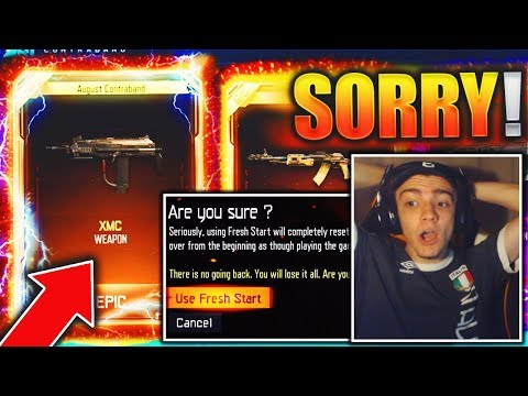 if i get the XMC, i RESET her account.. (i feel so bad) - BEST BLACK OPS 3 DLC WEAPON SUPPLY DROP!