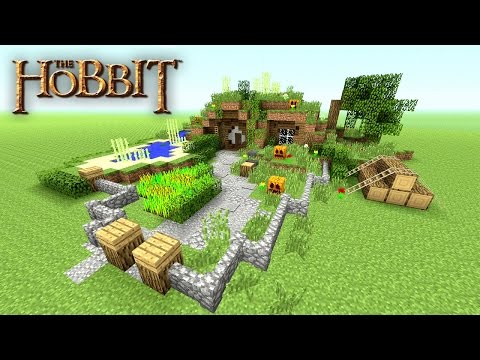 Minecraft: How to make a Hobbit Hole Tutorial | Hobbit House | Small Survival House Tutorial | 2016