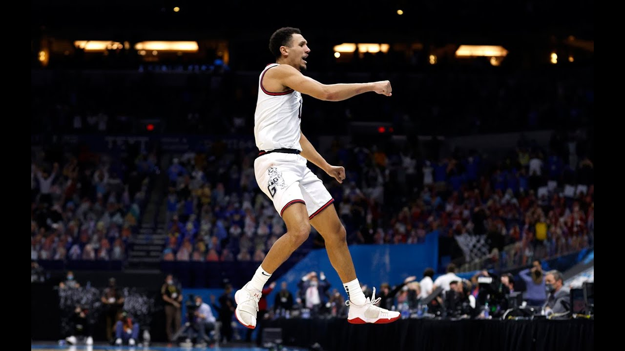 Jalen Suggs: 16 points and game winner in Final Four thriller