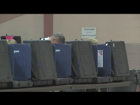 Absentee voting began Tuesday in Ohio