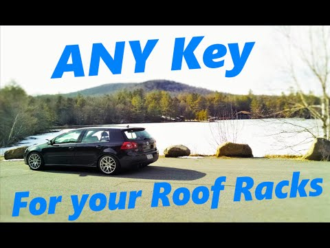 How to Make Your Own Key for Roof Racks! + Roof Rack Paint Protection