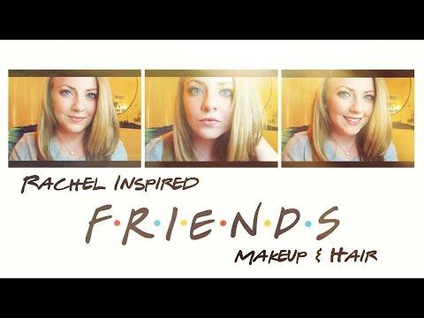Rachel from FRIENDS Inspired Makeup & Hair Tutorial