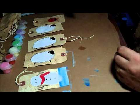 Part 2 of 3 - Primitive Painting Grungy Tags and Commentary on The Real Housewives of NYC