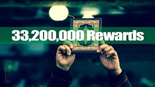 You want to get 33,200,000 rewards? - Watch This - Mufti Menk