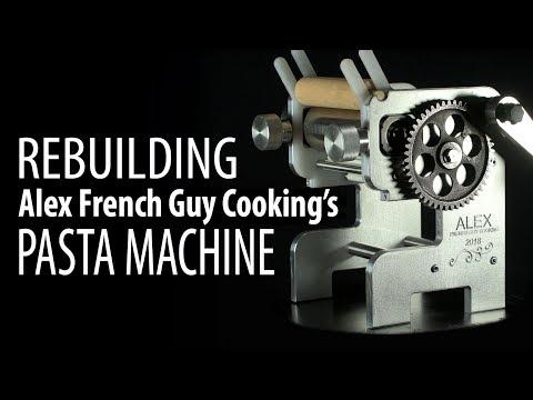 Alex's Pasta Machine: The Rebuildening!
