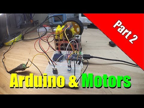 Arduino PWM and MOSFET DC Motor Control