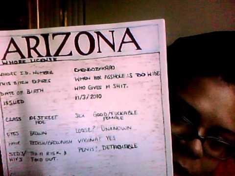 Arizona License(Fake)