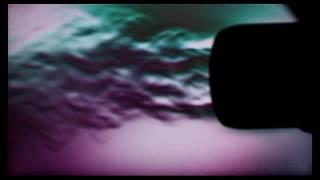 Hair dryer in schlieren photography