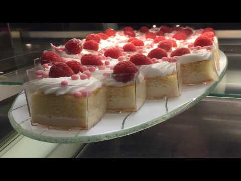 Xilix Systems The Clean Cut - Cutting Cakes, Pastries and Desserts using waterjet technology.