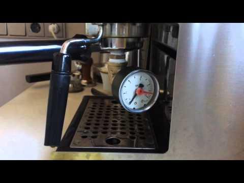 Gaggia classic pressure test