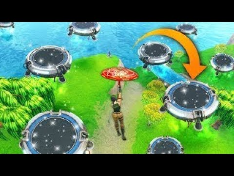 HOW TO BUILD Jump Pad in Creative destruction ( Fortcraft Traps) Creative Destruction Gameplay