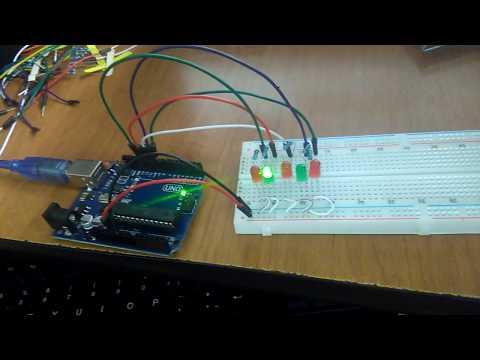 Arduino Montaje Secuenciador Leds