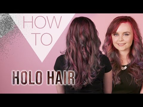 HOW TO | Holographic Hair | Festival Hair Styles | Superdrug