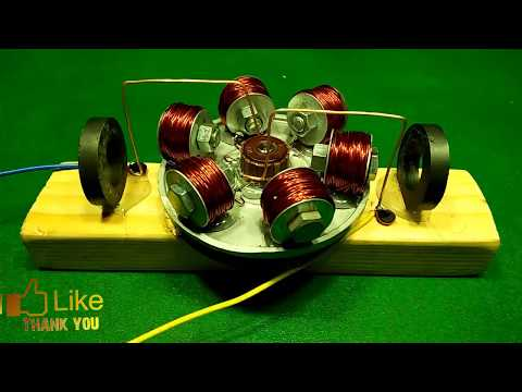 How to Make Powerful Motor 200000 RPM with Magnets DIY Experiments 2018