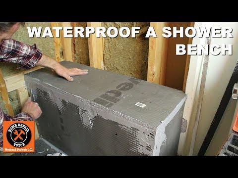 How to Waterproof a Shower Bench Using Wedi (Step-by-Step)