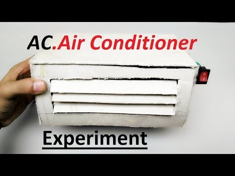 How to make Air conditioner & Air Cooler at home - Simple Trick & Life Hack.../