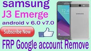 J3 Luna/J3 Emerge FRP/Google account bypass | J327P,S327VL N
