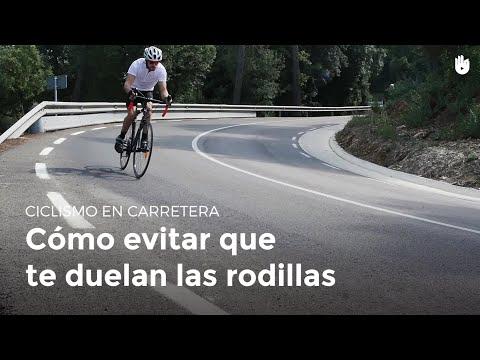 Evita el dolor de rodillas en bici | Ciclismo en carretera