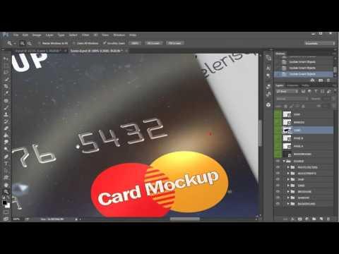 Membership / Bank / Credit Card Mock-Up