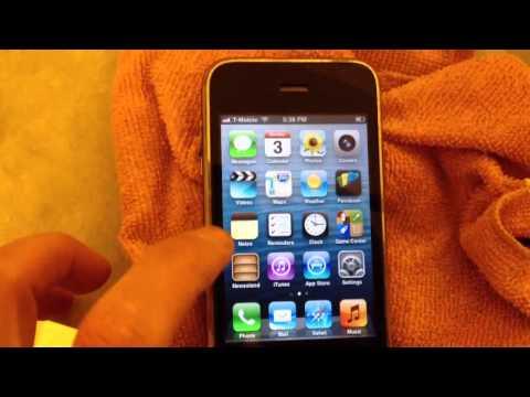 iPhone 3GS carrier unlocked