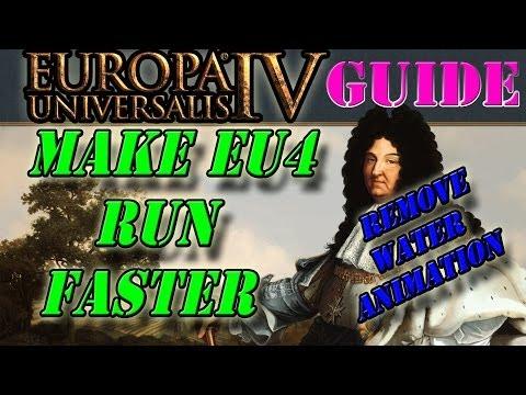 Eu4 - Make Eu4 run faster (Remove water animations)