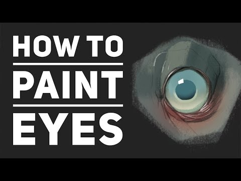 How to Paint Different Eyes