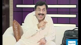 Dunya TV-26-02-12- Hasb E Haal part 5/5