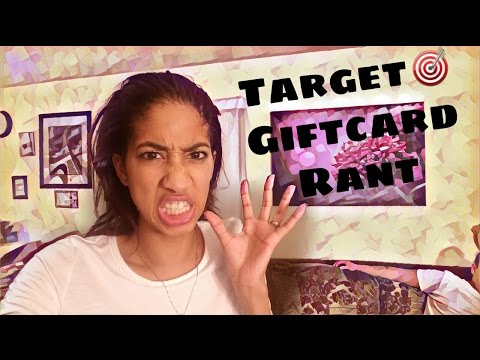 🎯Target Rant: Cashier Threw Away My Giftcard 🗑